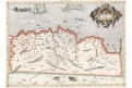 Mercator Ptolemaus - Africae II., mědiryt, 1578