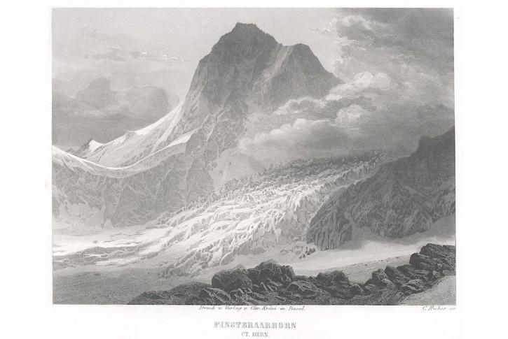 Finsteraarhorn, Krüsi,  oceloryt,  (1840)