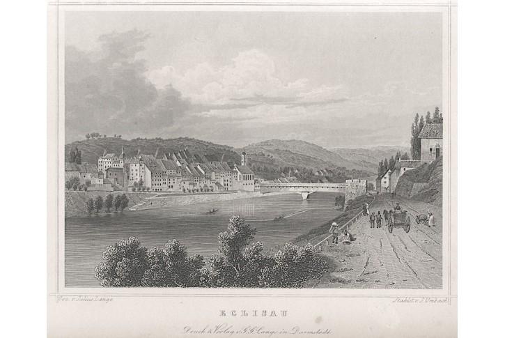 Eglisau, Lange, oceloryt, 1840