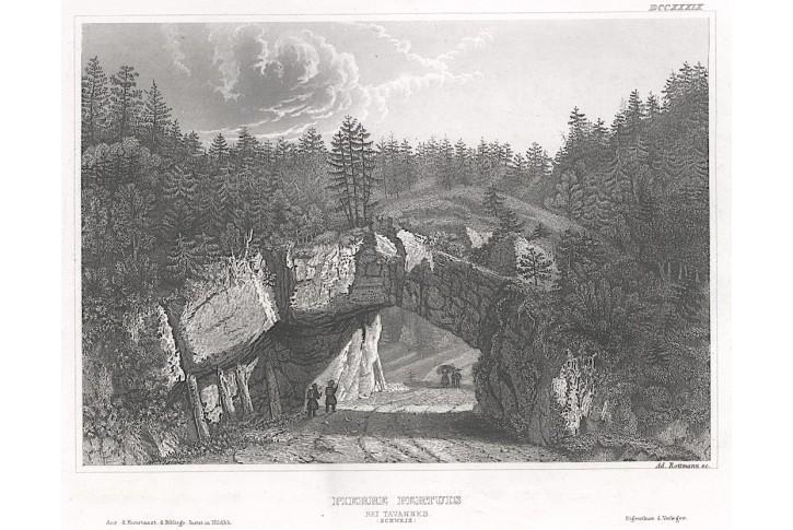 Pierre Pertuis Tavannes, Meyer, oceloryt, 1850