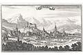 Bruneck - Braunegg, Beer, mědiryt, 1703