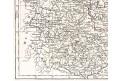 Vaugondy - Delamarche : Saxe, mědiryt 1806