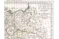 Německo - Čechy, Mentelle,  mědiryt, 1797
