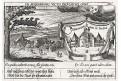 Uraniborg , Meissner, mědiryt, 1637