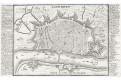 Antverpy, Bodenehr,  kolor. mědiryt, 1720