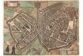 Arras, Braun Hogenberg., kolor. mědiryt, 1581