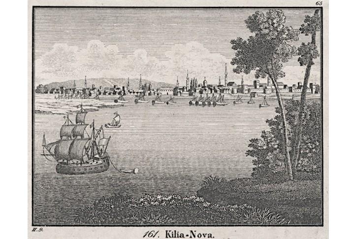Kilija Ukrajina, Neue Bildergal., litografie, 1837