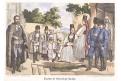 Rumunsko Hermannstadt kroj, kolor. litogr., 1855