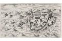 Bar - Antivari, Lasor a Varea, mědiryt, 1713