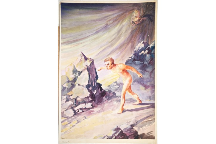 Strach, kresba (1910)