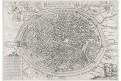 Namur, Braun Hogenberg., mědiryt, 1575