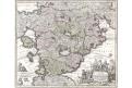Utopia - Schlaraffenland, Seutter, mědiryt, (1760)