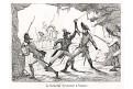Leveneur u Namuru, mědiryt, 1833