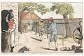 Tkadlec, akvatinta kolorovaná, 1820