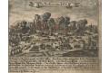 Zittau požár, Fiedler,  kolor. mědiryt, (1796)