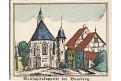 Bamberg Wallfahrtkapelle, kolor. litografie, 1870