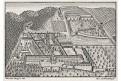 Altenburg St. Lambert, mědiryt, 18. stol.