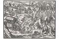 Cest na lov,  Amman,  dřevoryt, 1582