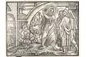 Střezte se falešných proroků, dřevořez, 17. stol.
