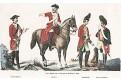 Cheb uniformy, Pröckl, litografie, 1877