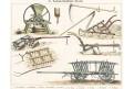 Zěmědělská stroje , chromolitografie, 1890