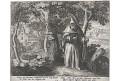 Sadeler j.: Paphnutius , mědiryt, 1600
