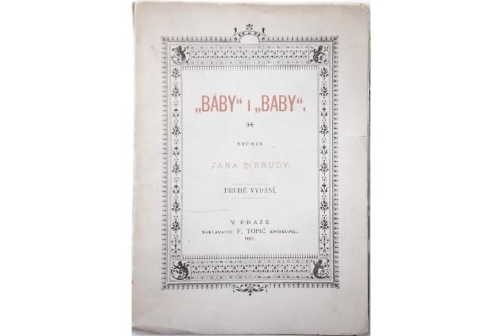 Neruda J.: Báby i baby. Praha 1887 2. vyd.