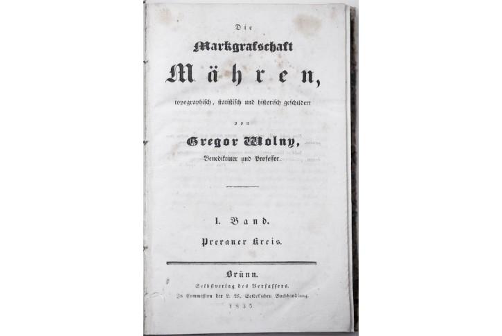 Volny G:: Prerauer Kreis, Brno 1835