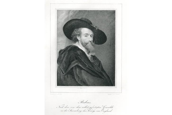 Rubens  , litografie, 1840