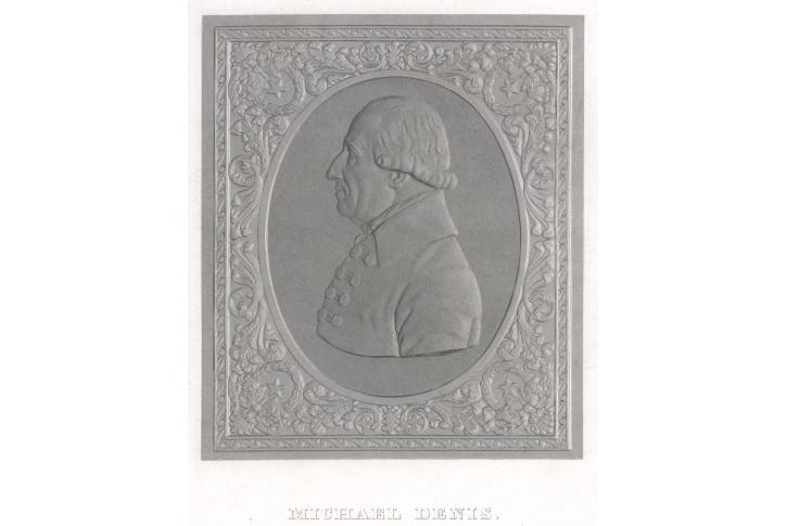 Michael Denis , oceloryt, (1860)