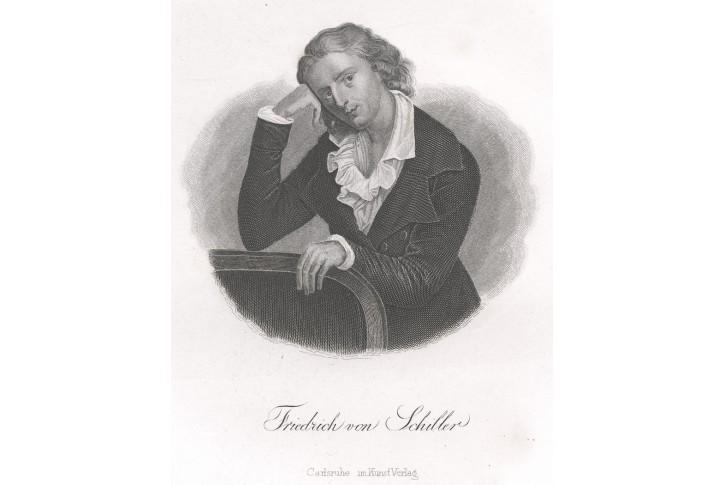 Schiller, oceloryt, 1850
