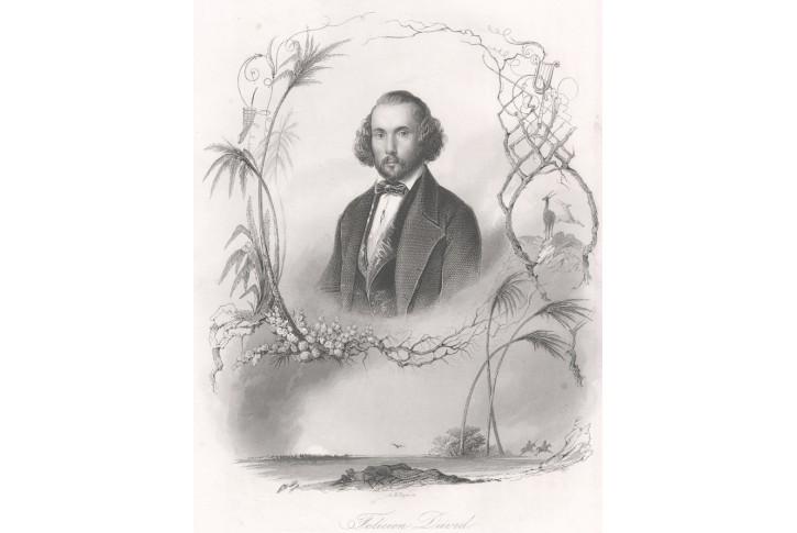 Felicien David, oceloryt, (1860)
