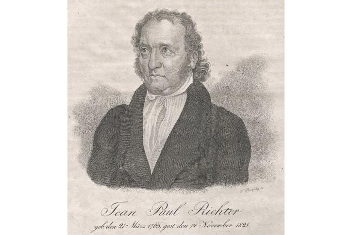 Jean Paul, Medau, mědiryt, (1830)