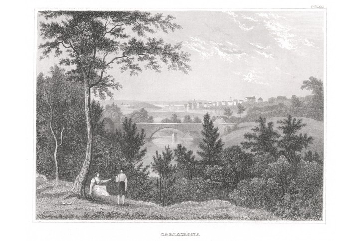 Karlskrona, Meyer, oceloryt, 1850