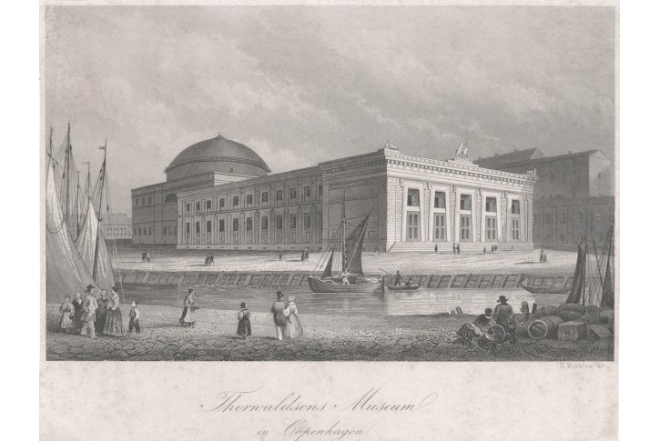 Kopenhagen Museum,  oceloryt, 1850
