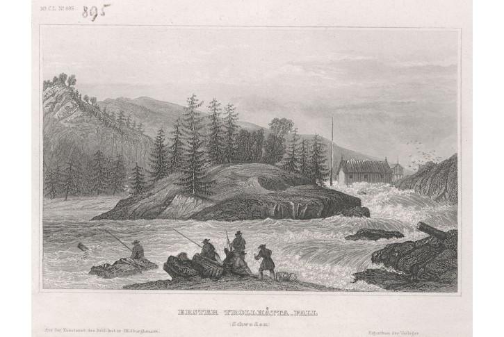 Trollhätta, Meyer, oceloryt, 1850