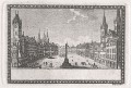 Praha  Staroměstské nám, lept ,(1800)